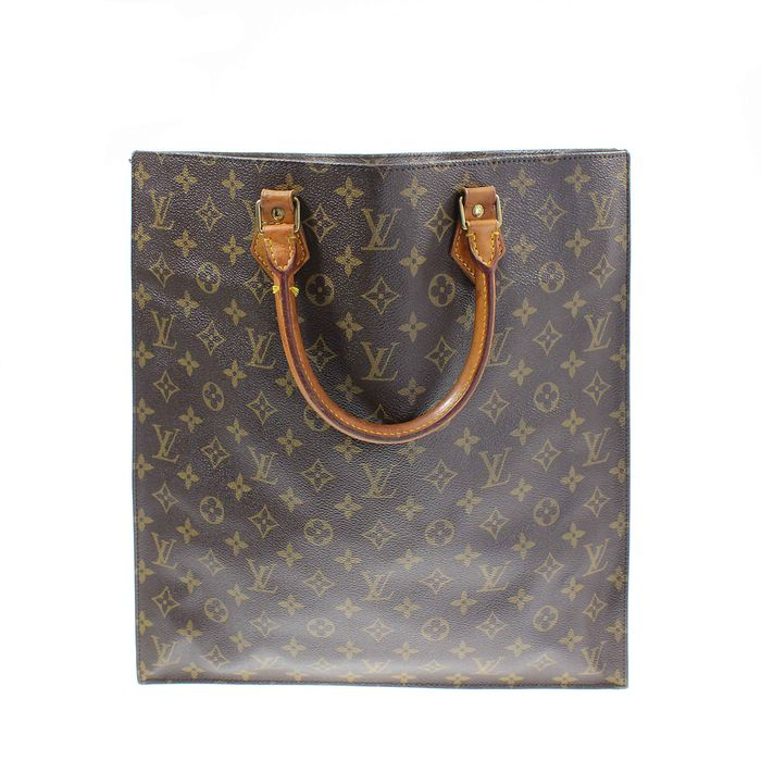 67879b957e66 Louis Vuitton - Monogram Sac Plat - Handbag - Catawiki