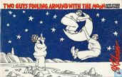 Two Guys Fooling Around with the Moon,and other drawings