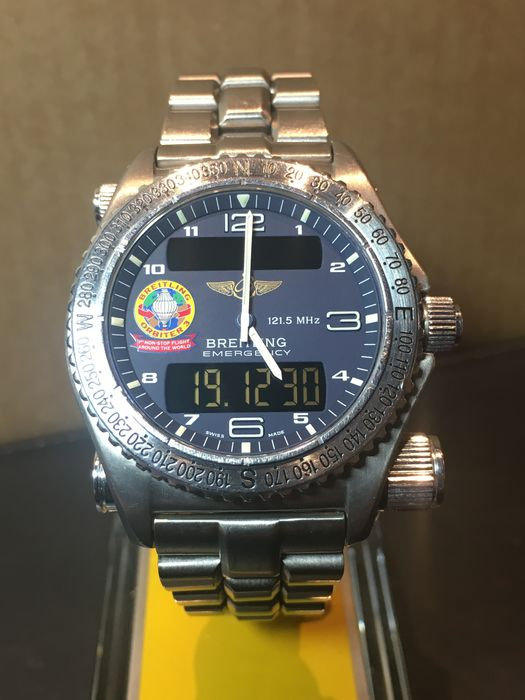 Breitling Orbiter 3 – Men's wristwatch – 1999