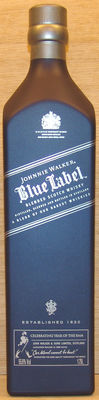 1 bottle - Johnnie Walker 1.75L Blue Label the Year of the Ram.