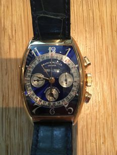 Franck Muller 6850 CC MC AT Master Calendar – men's watch – mint condition
