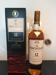 Macallan 12 years old - Sherry Oak - Masters of Photography Ernie Button - Limited Capsule Edition