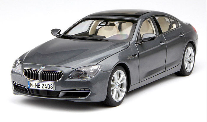 Paragon Models   Scale 1/18   BMW 6 Series Gran Coupé