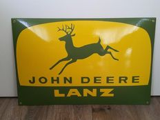 John Deere - 50 x 27 cm - late 20th/early 21st century