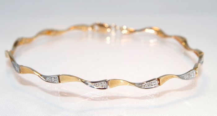 cable bangle stackable sgs gold bracelet tube bling jewelry twisted filled