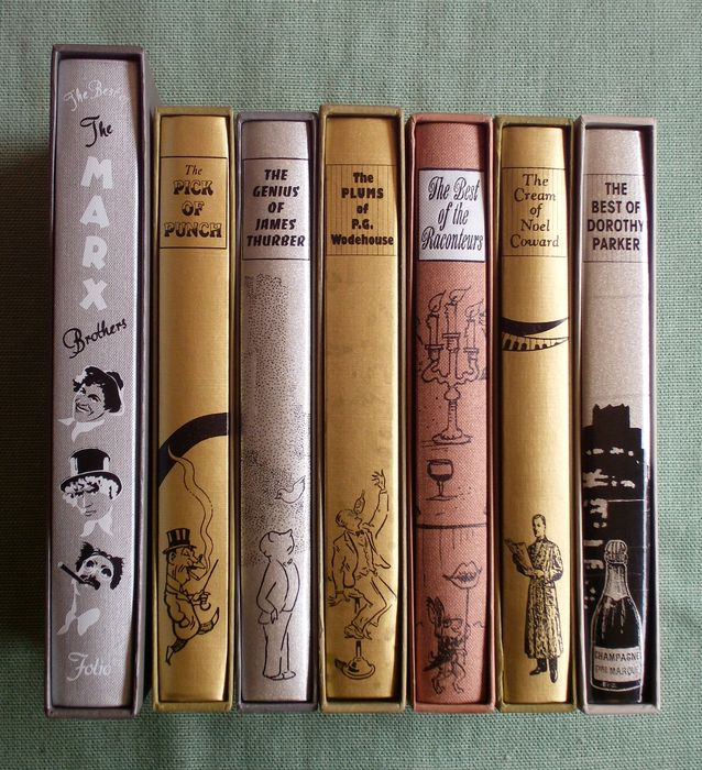 "Anthologies: Folio Society; Lot Of Seven ""best Of"" Anthologies"