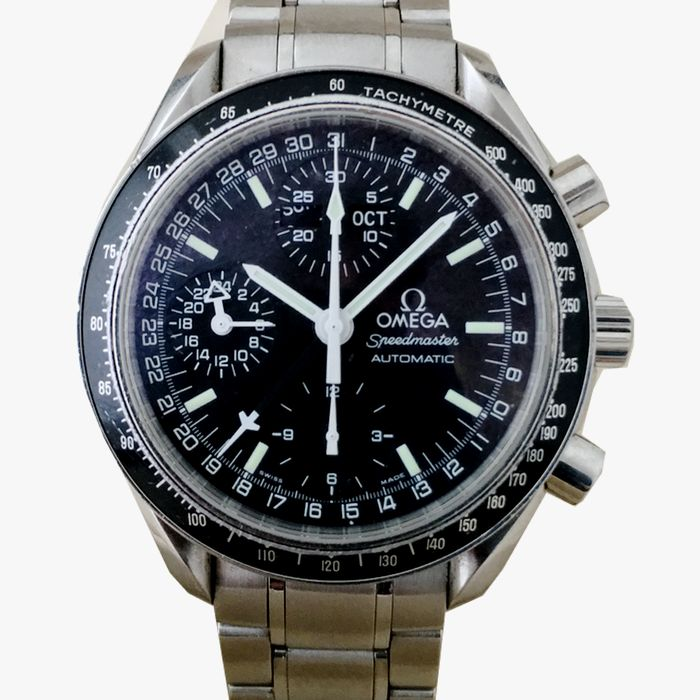 Omega Triple Calendar Speedmaster Automatic Chronograph Men's Watch