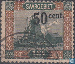 Mine Shaft, with overprint