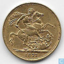 Australia 1 sovereign 1877 (S)