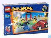 Lego 4621 Jack Stone Red Flash Station