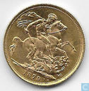 Australia 1 sovereign 1879 (S)
