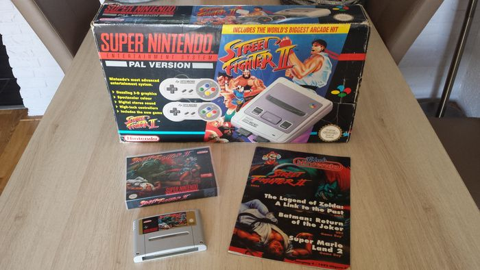 Nintendo Snes Console Street Fighter Ii Edition Complete Catawiki