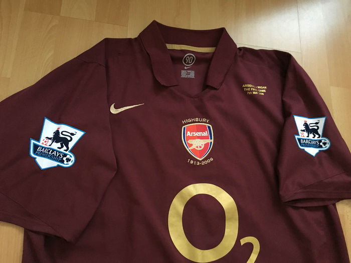 new style 7dca0 69f3a Arsenal Home Shirt - Highbury Last Game - Henry 14 - Size XL.