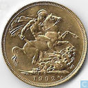 Australia 1 sovereign 1902 (P)