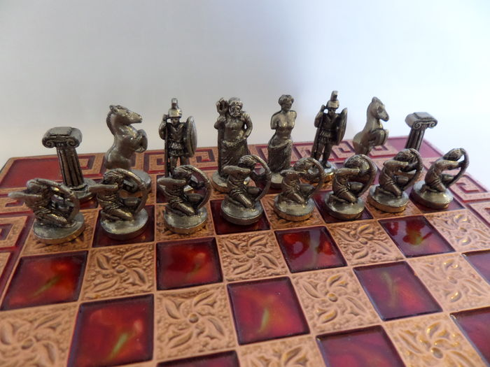 jeu d 39 checs grec document original m tal coul catawiki. Black Bedroom Furniture Sets. Home Design Ideas