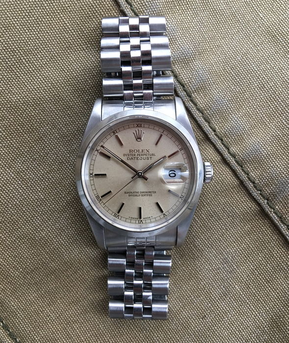 Rolex Oyster Perpetual Datejust – wristwatch – 1991.