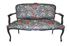 Spectacular restored couch - first third of the 20th century