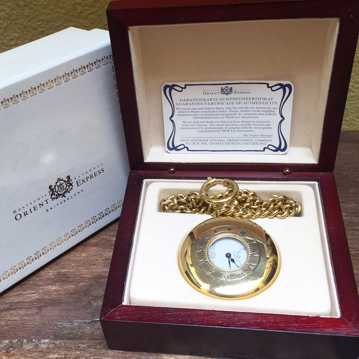 Orient-Express Swiss Pocket Watch 1997