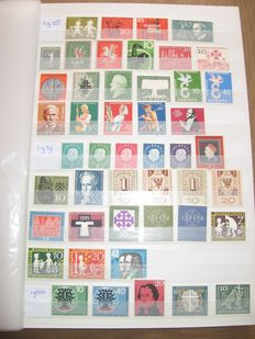 Federal Republic of Germany 1958/2000 - Collection in stock book - Michel 281/2086