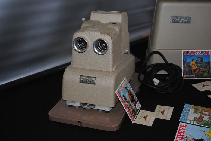 View-master stereomatic 500 3d projector