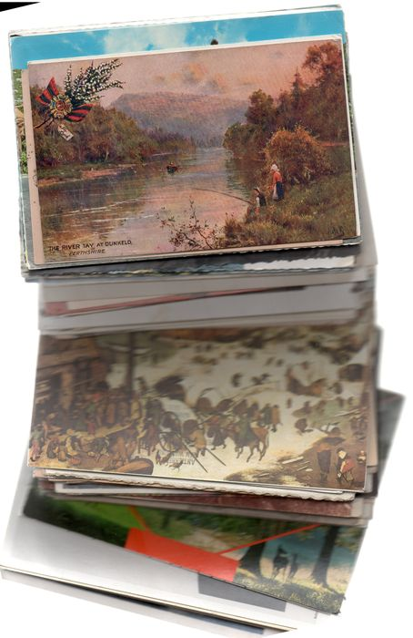 BELGIUM : 2 kg 600 of poscards from Wallonia and flanders