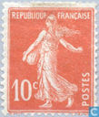 Postage Stamps - France [FRA] - Sower (without ground)