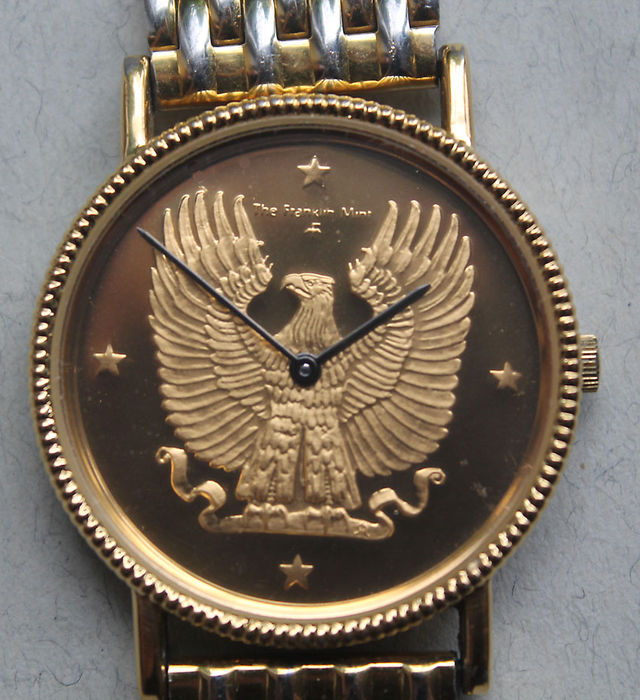 Watch Eagle Franklin Mint By Designer Gilroy Roberts Catawiki