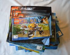 Assorted - 106 Lego manuals including City/Ninja