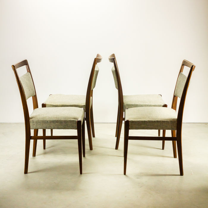 Producer not known 4 dining room chairs catawiki for Dining room furniture auctions