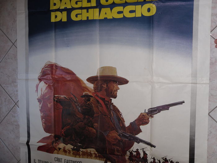 The Outlaw Josey Wales - Italian original vintage posters and lobby cards -  Clint Eastwood - Il Texano dagli occhi di Ghiaccio - Catawiki
