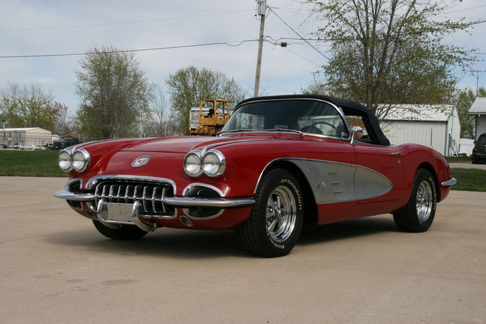 Chevrolet - Corvette C1 Roadster - 1960