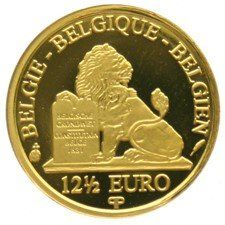 Belgium - 12½ Euro 2007, Leopold II - 1/25 oz of gold