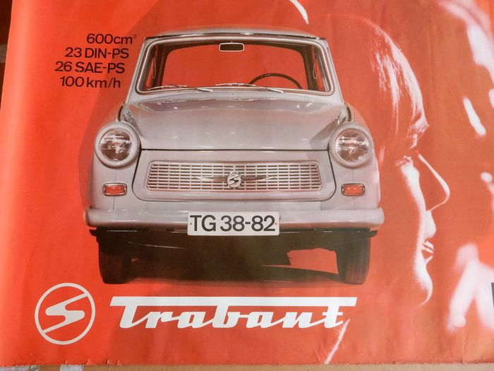 trabant original poster 100 x 70 cm catawiki. Black Bedroom Furniture Sets. Home Design Ideas
