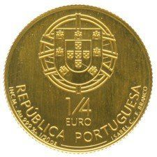 Portugal – 1/4 Euro 2008 King D. Dinis – gold