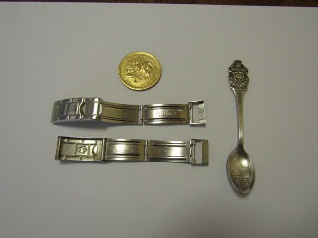 Two Rolex Clasps Rolex Spoon Piaget Coin Catawiki