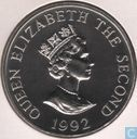 "Alderney 2 Pound 1992 ""40th Anniversary of the Accession of Queen Elizabeth II"""