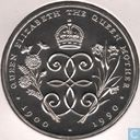"Falkland Islands 5 pounds 1990 ""The Queen Mother's 90th Birthday"""