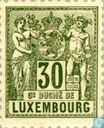 Postage Stamps - Luxembourg - Allegory