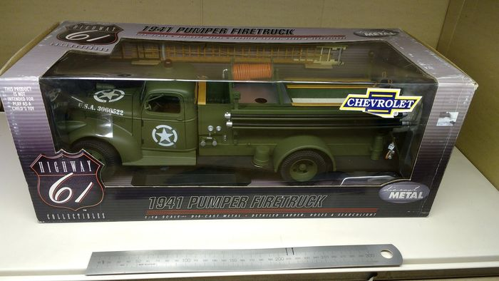 Highway 61 Scale 1 16 1941 Us Army Chevrolet Pumper