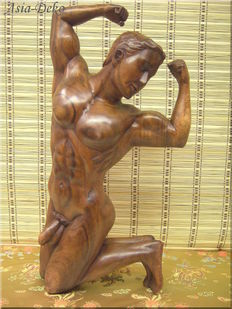 Sculpture; Nude torso - 1995