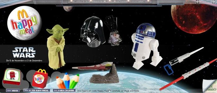 Star Wars Mcdonalds Happy Meal Happy Meal Kids Items And Boxes
