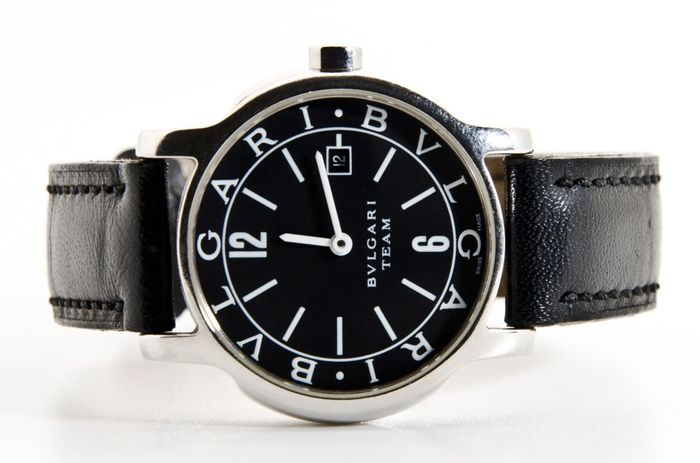 best service b0bd1 43691 BVLGARI TEAM SOLOTEMPO – Ref NO: ST29S – Model D2909 - Catawiki