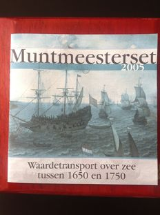 Netherlands - year set 2005  Mint master set  incl ... 54147a711be8