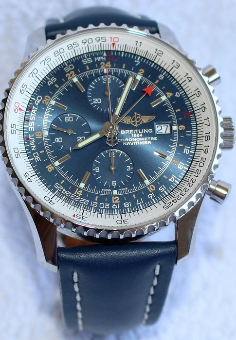 Breitling Navitimer A24322 Men S Chronograph Watch 2010s Very Nice Catawiki