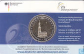 "Allemagne 2 euro 2008 (coincard - J) ""St. Michaelis Church Hambourg"""