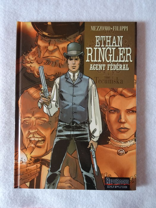 Ethan Ringler, Agent Fédéral -  tome 2 - Les Hommes-brume (French Edition)