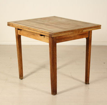 Table - Oak wood - Italy - Early 1900s