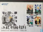 Postage Stamps - Faroe Islands - 1000 years of Christianity
