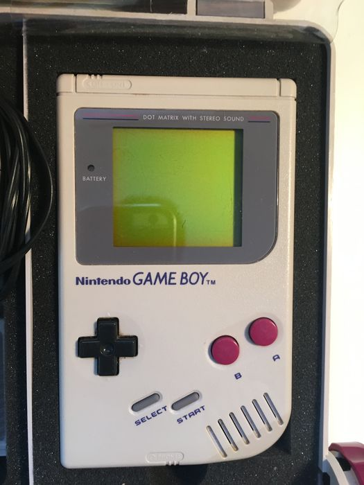 Nintendo Game Boy Classic Dmg 01 Console With 9 Games And