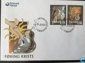 Postage Stamps - Faroe Islands - Birth Christ